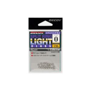 DECOY R-4 Split Ring Light silver