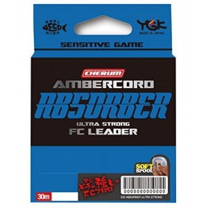 YGK CHERUM AMBERCORD SG ABSORBER ULTRA STRONG FC LEADER 30m