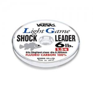 VARIVAS Light Game Shock Leader FLUORO 30m