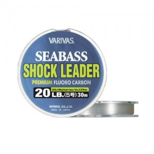 VARIVAS Sea Bass FLUORO Shock Leader, 30m
