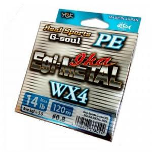 YGK G-SOUL EGI METAL WX4 PE 120m