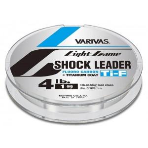 VARIVAS Light Game Shock Leader Ti-Fluoro 30m