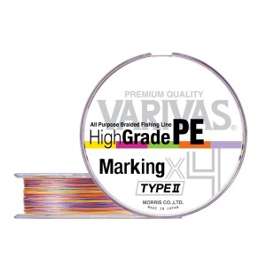 VARIVAS High Grade PE X4 marking TYPEII 150m